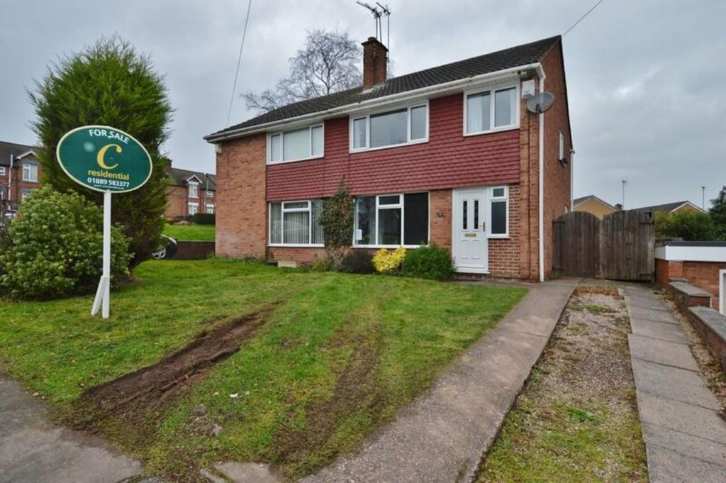 3 Bedrooms Semi Detached House for sale in Toy Close, Rugeley