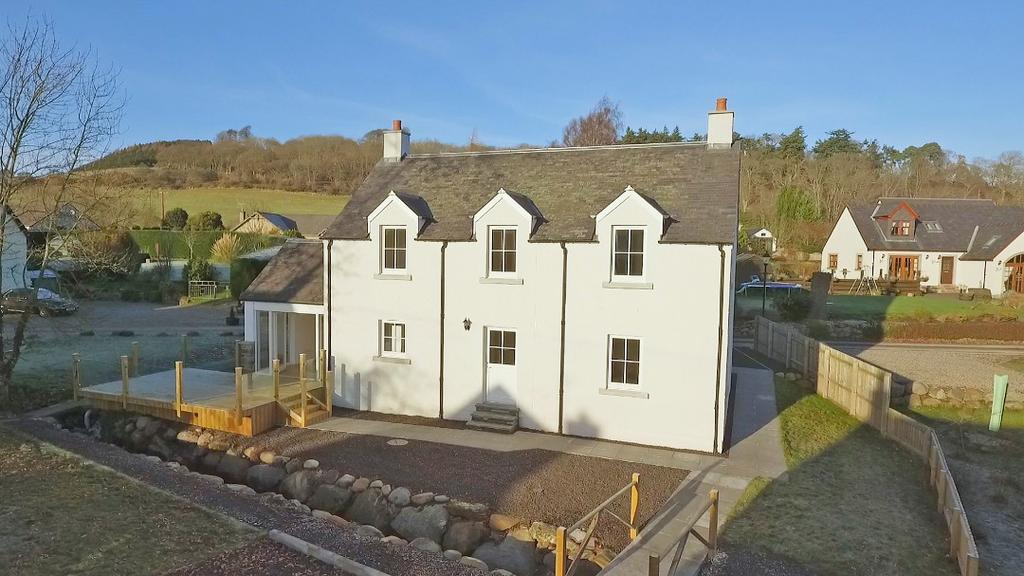 3 Bedrooms Detached House for sale in Burn View , Rait, Perth, Perthshire, PH2 7RT