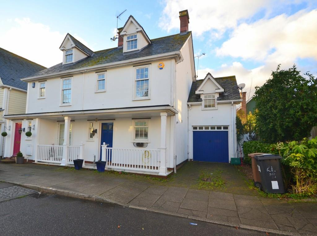 4 Bedrooms Semi Detached House for sale in Burnell Gate, Chelmsford, CM1 6ED