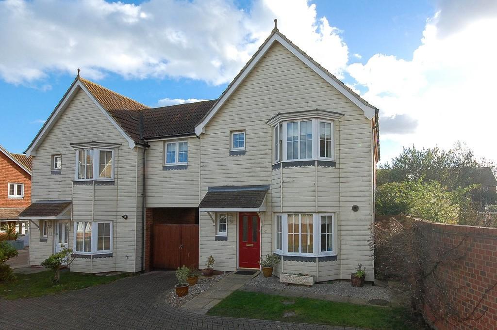 4 Bedrooms Link Detached House for sale in Pochard Crescent, Stillwater Park, Herne Bay