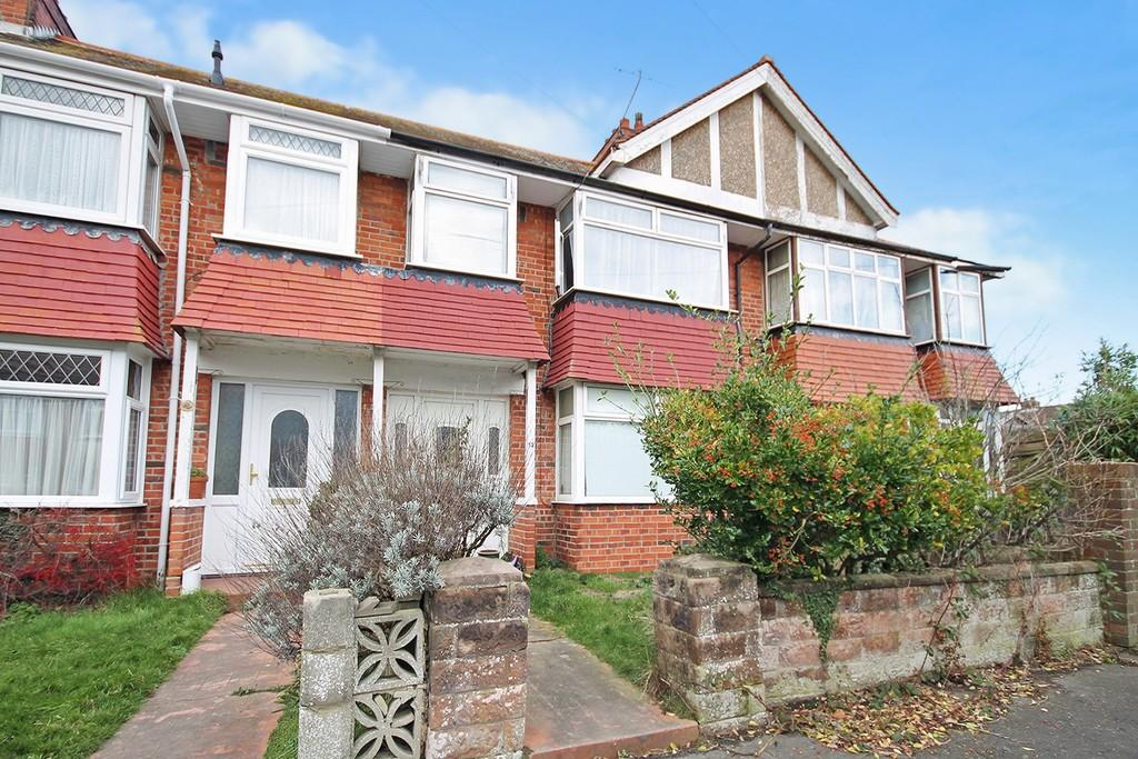 3 Bedrooms Terraced House for sale in Belvedere Avenue, Lancing
