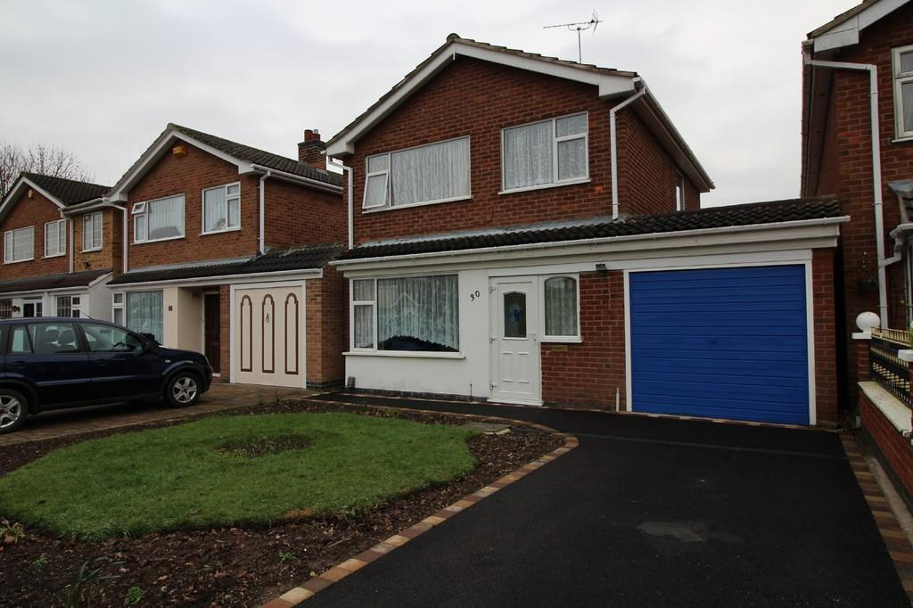 3 Bedrooms Detached House for sale in Howard Close, Loughborough