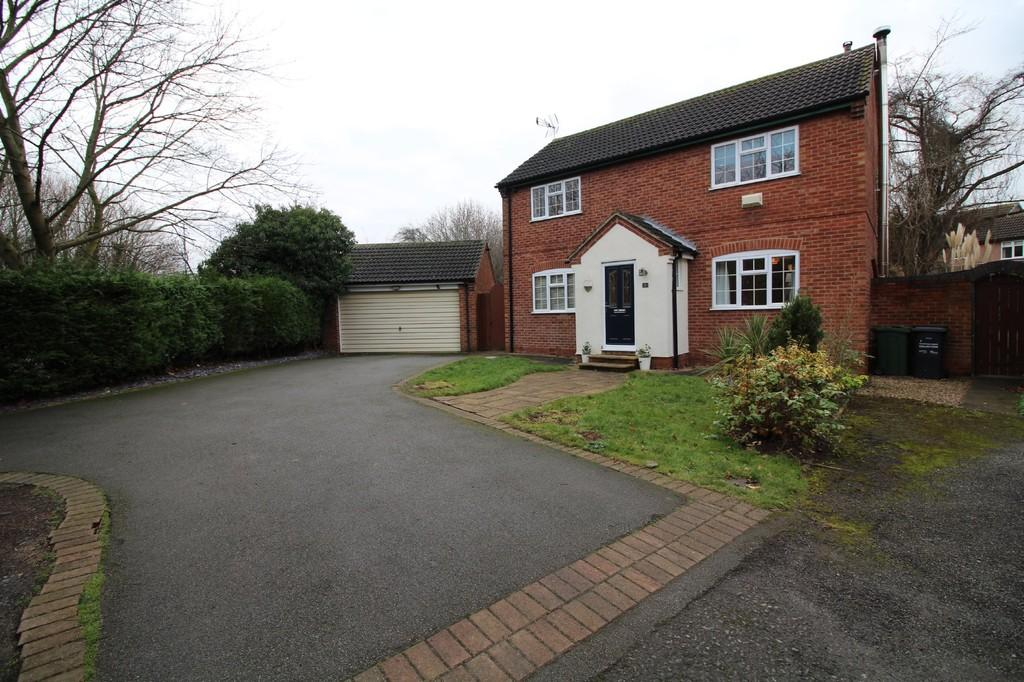 4 Bedrooms Detached House for sale in Pitsford Drive, Loughborough