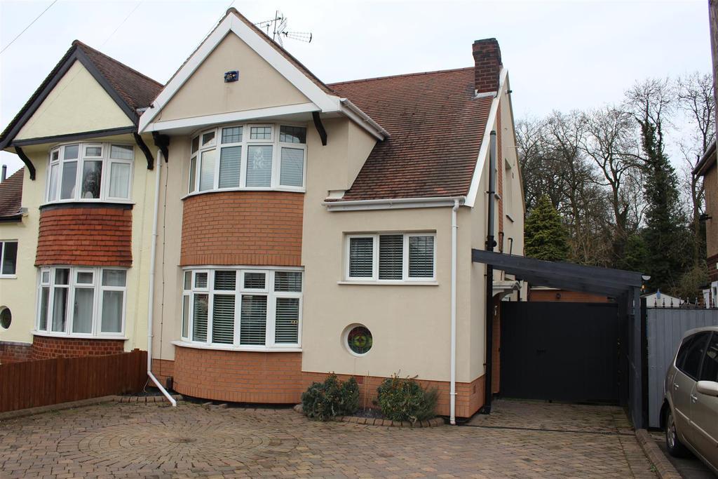 3 Bedrooms Semi Detached House for sale in Grange Drive, Glen Parva, Leicester