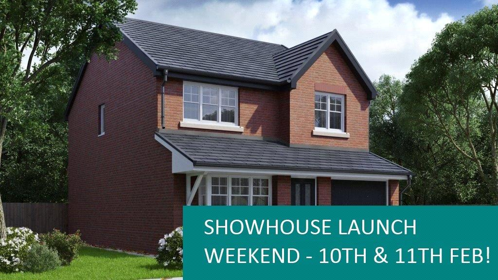 4 Bedrooms Detached House for sale in Plot 12 Lakeside Gardens, The Cleveland, Blackburn, BB2