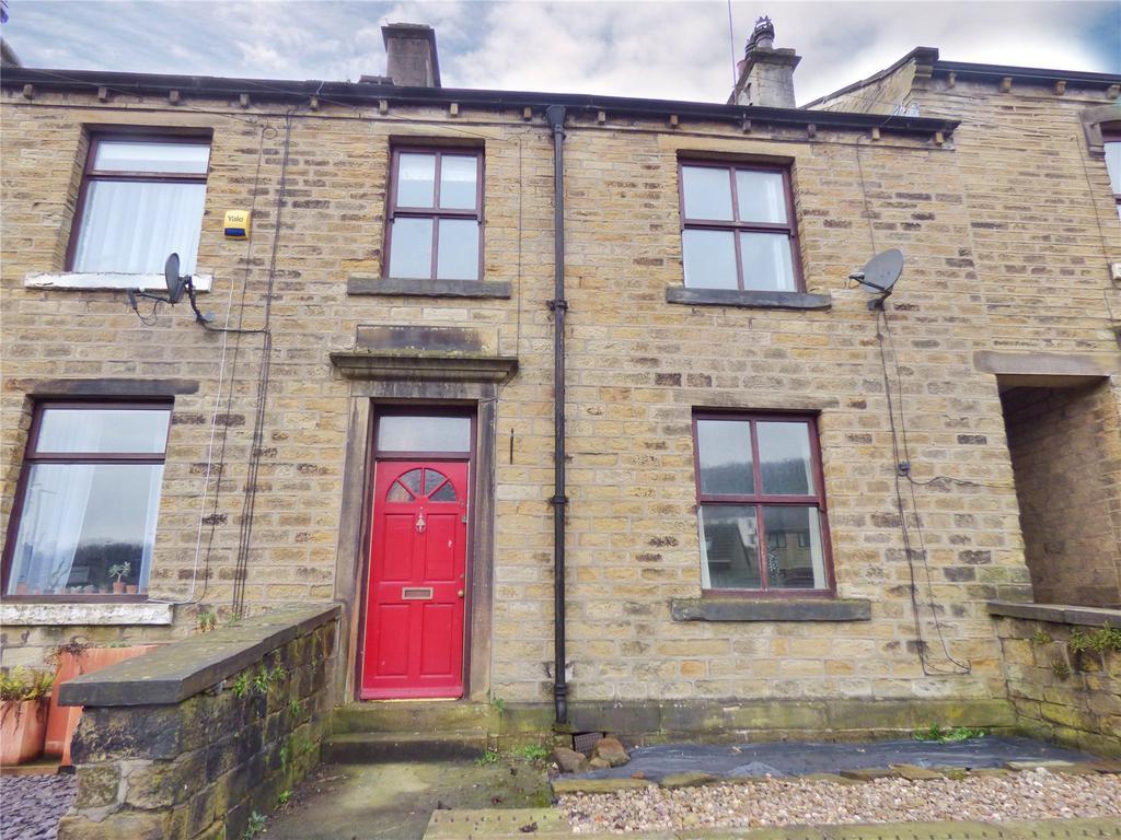 3 Bedrooms Terraced House for sale in Crimble Bank, Slaithwaite, Huddersfield, West Yorkshire, HD7