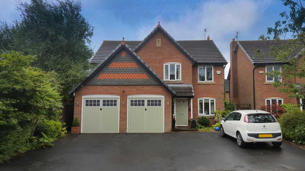 5 Bedrooms Detached House for sale in Pasture Grove, Calderstones Park, Whalley, BB7