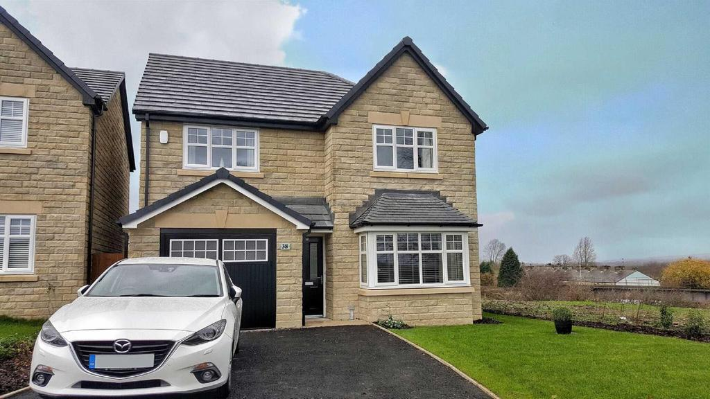 4 Bedrooms Detached House for sale in Painter Crescent, Billington, BB7