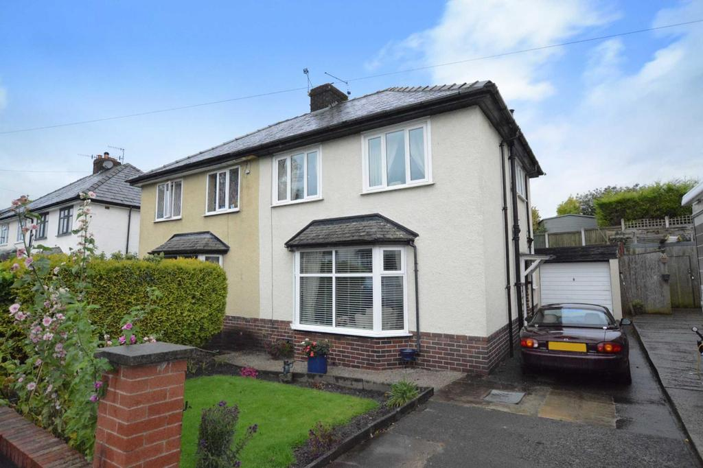 3 Bedrooms Semi Detached House for sale in Woodlands Drive, Whalley, Clitheroe, Lancashire, BB7