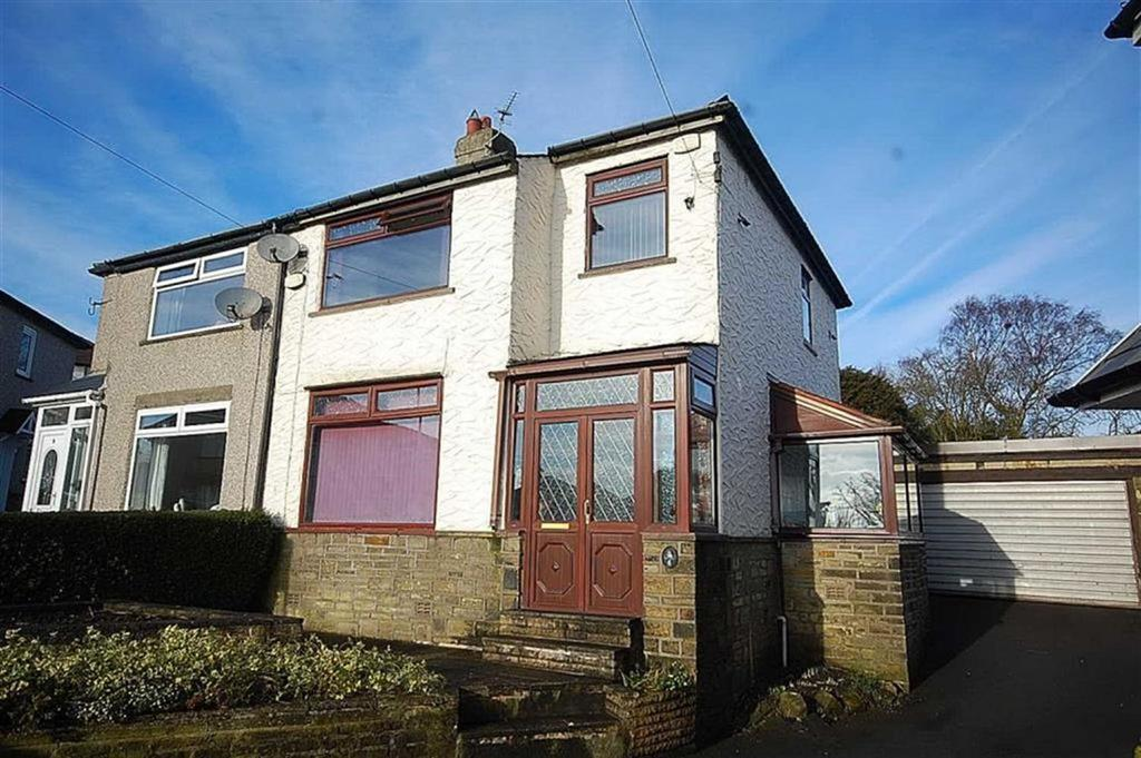 3 Bedrooms Semi Detached House for sale in Mount Crescent, Norton Tower, Halifax, HX2