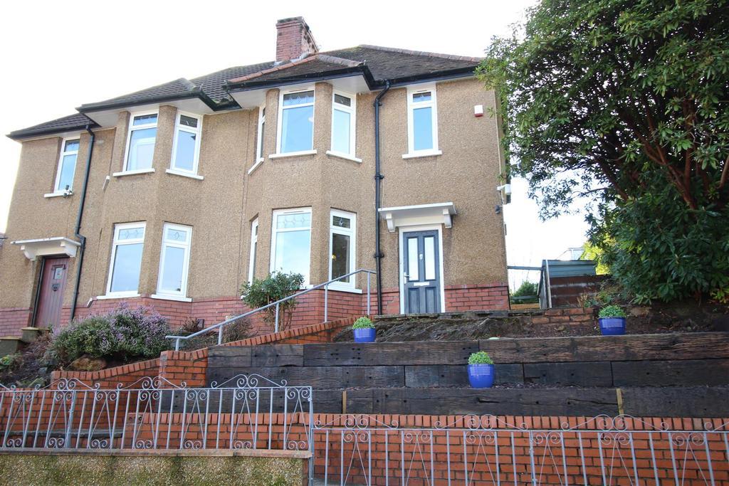 3 Bedrooms Semi Detached House for sale in Allt-Yr-Yn Road, Newport