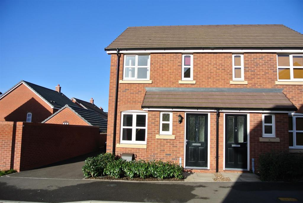 2 Bedrooms Semi Detached House for rent in Butler Close, Whitnash, Leamington Spa