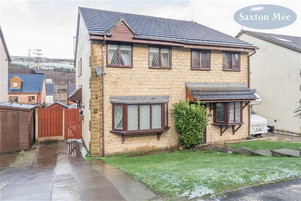 3 Bedrooms Semi Detached House for sale in Paterson Close, Stocksbridge, Sheffield, S36