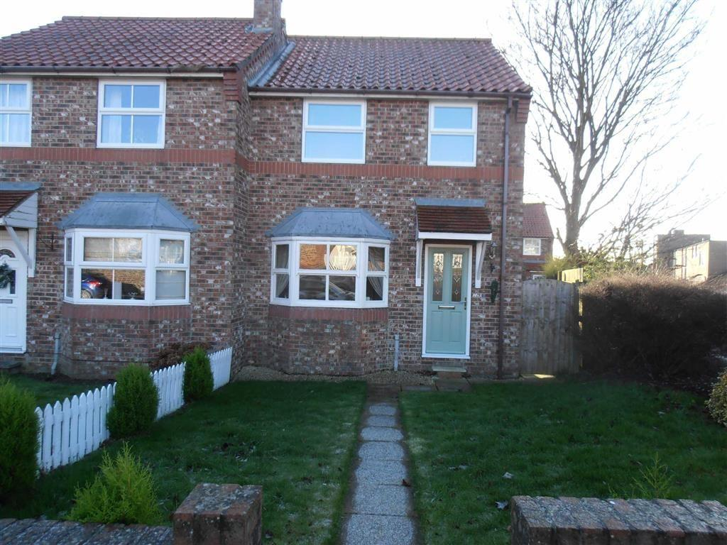 2 Bedrooms Semi Detached House for rent in Georgian Mews, Driffield, East Yorkshire