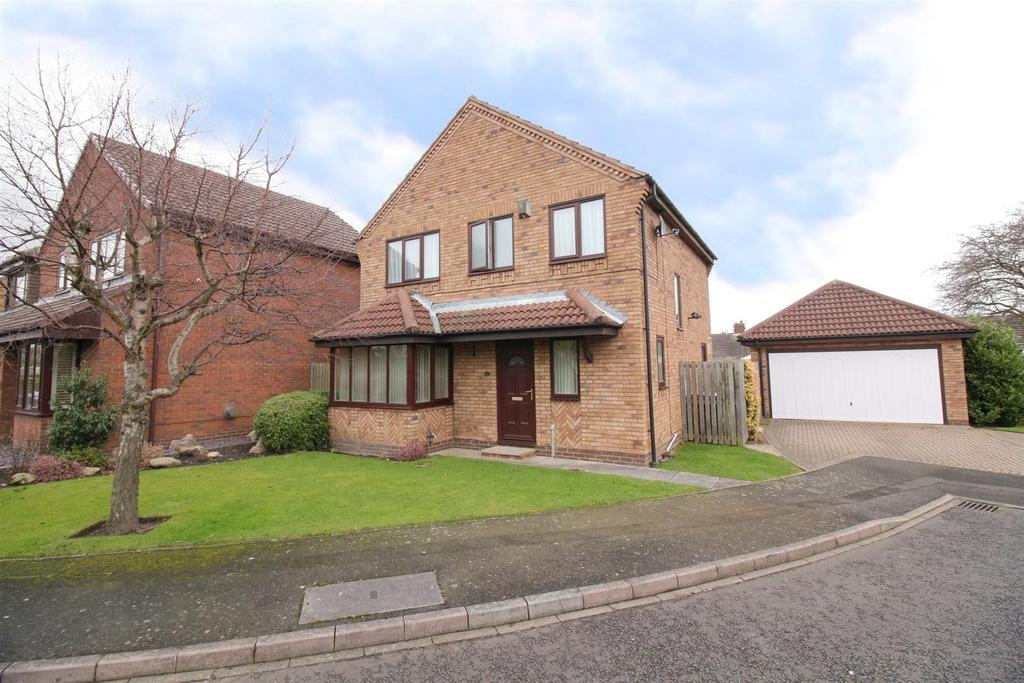 4 Bedrooms Detached House for sale in Moor Park Court, North Shields