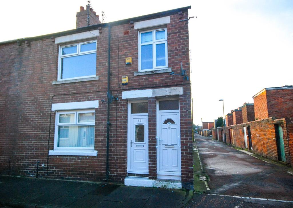 2 Bedrooms Flat for sale in Collingwood Street, Hebburn