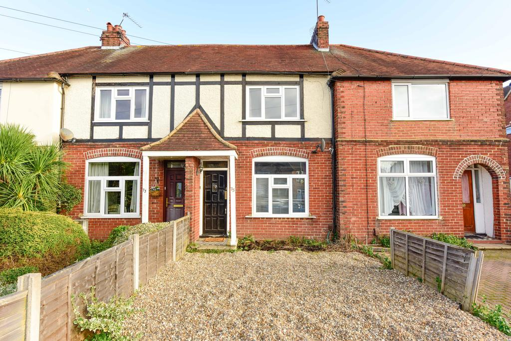 2 Bedrooms Terraced House for sale in Garden Road, WALTON ON THAMES KT12