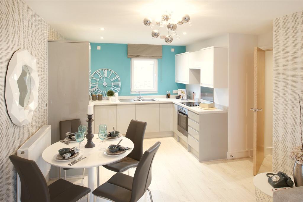 2 Bedrooms Flat for sale in Meridian Waterside, Southampton, SO14