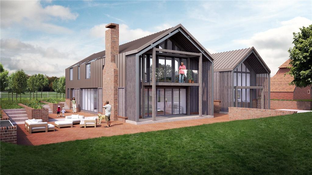 5 Bedrooms Detached House for sale in Goudhurst Road, Staplehurst, Tonbridge, Kent, TN12