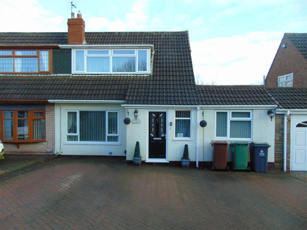 3 Bedrooms Semi Detached Bungalow for sale in Green Lane, Shelfield