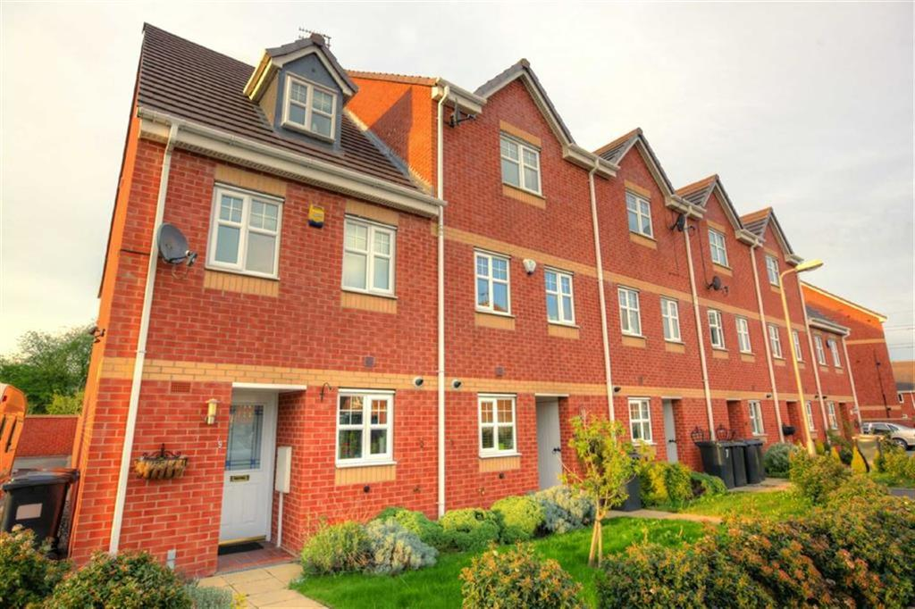 4 Bedrooms Town House for sale in Mimosa Close, Bermuda Park, Nuneaton