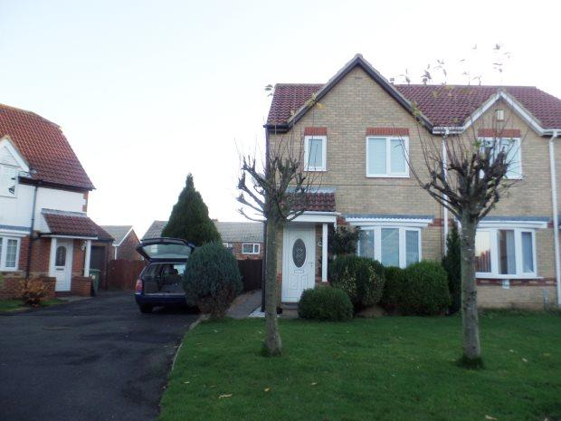 3 Bedrooms Semi Detached House for rent in BARSLOAN GROVE, PETERLEE, PETERLEE