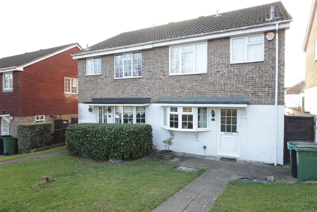 3 Bedrooms Semi Detached House for sale in Yew Tree Rise, Calcot, Reading