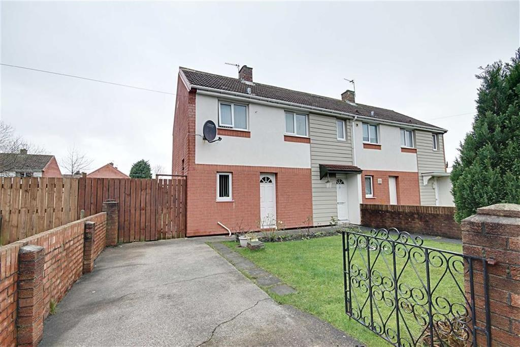 2 Bedrooms Semi Detached House for sale in Dickens Avenue, South Shields, Tyne And Wear