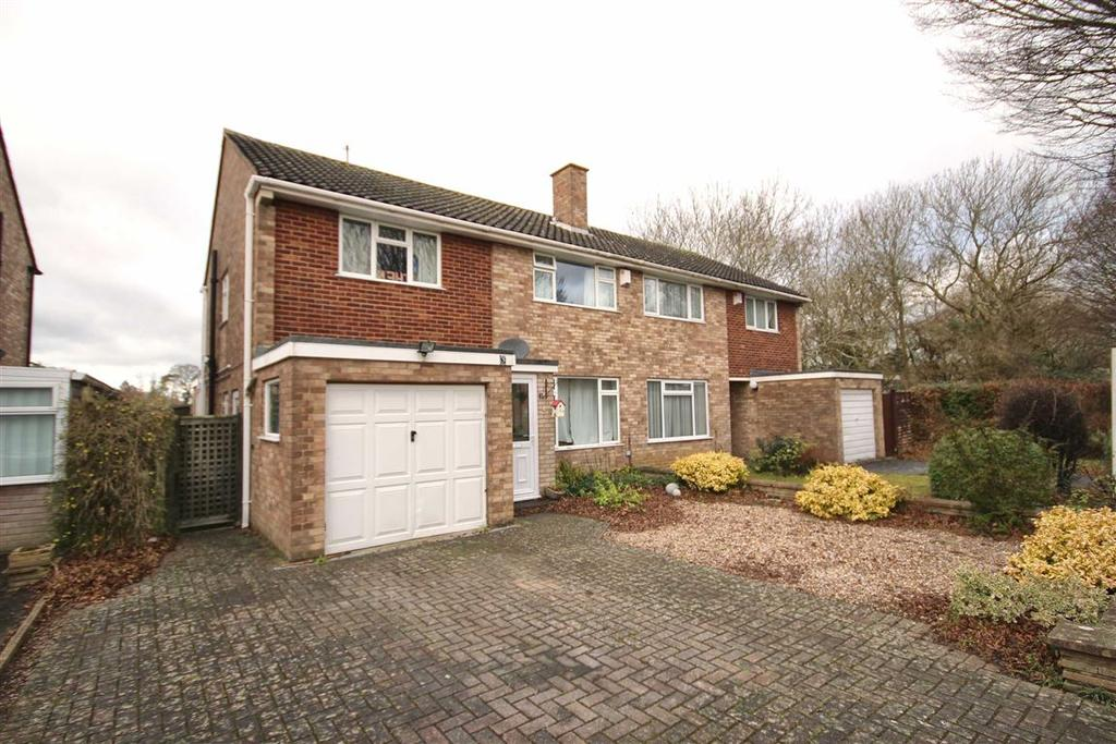 4 Bedrooms Semi Detached House for sale in Robert Burns Avenue, Benhall, Cheltenham, GL51