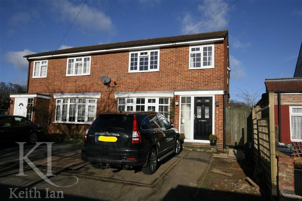 4 Bedrooms Semi Detached House for sale in Varney Close, West Cheshunt