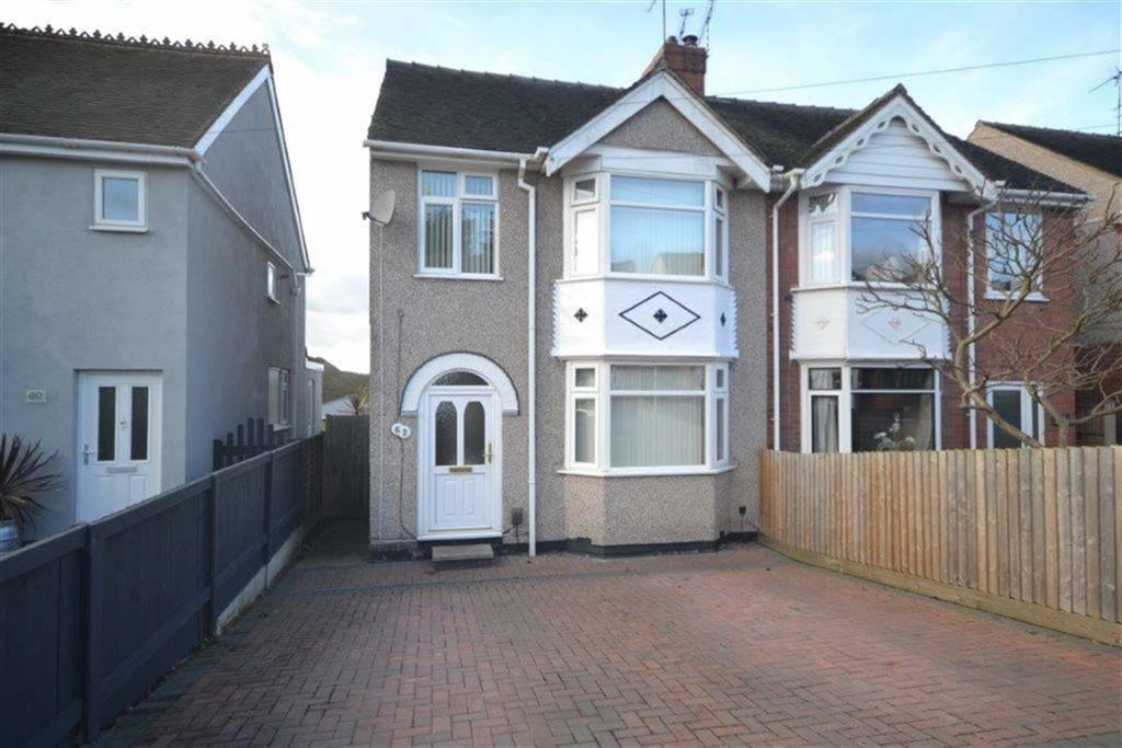 3 Bedrooms Semi Detached House for sale in Castle Road, Weddington, Nuneaton