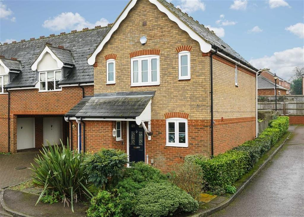 3 Bedrooms End Of Terrace House for sale in Vallance Place, Harpenden, Hertfordshire