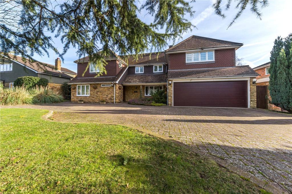 5 Bedrooms Detached House for sale in Barlings Road, Harpenden, Hertfordshire