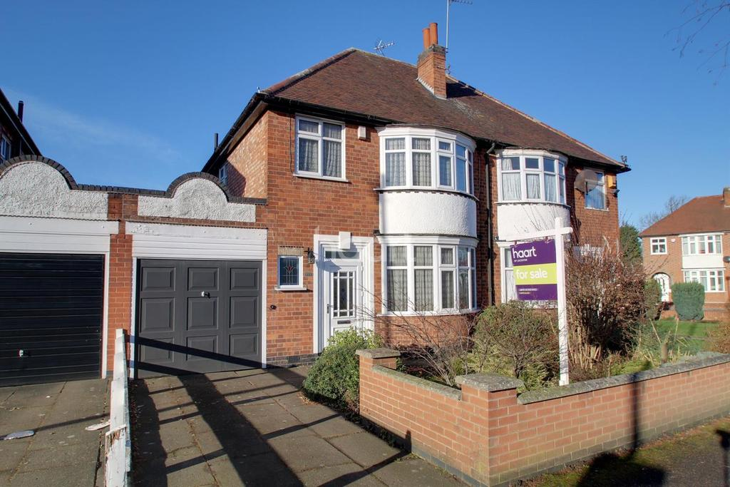 3 Bedrooms Semi Detached House for sale in Aberdale Road, West Knighton, Leicester