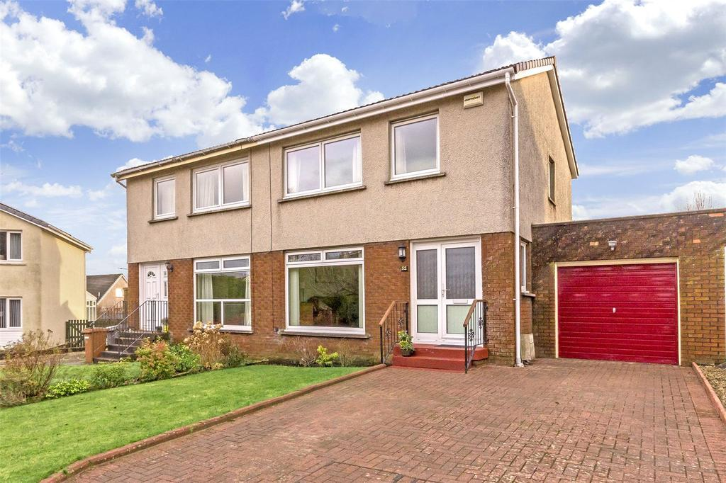 3 Bedrooms Semi Detached House for sale in 52 Kintyre Crescent, Newton Mearns, Glasgow, G77
