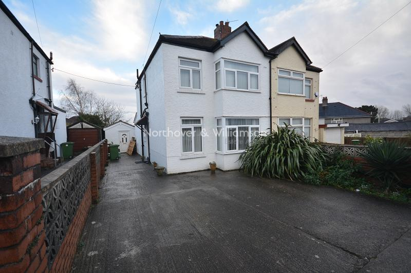 3 Bedrooms Semi Detached House for sale in Northlands , Rumney, Cardiff, Cardiff. CF3