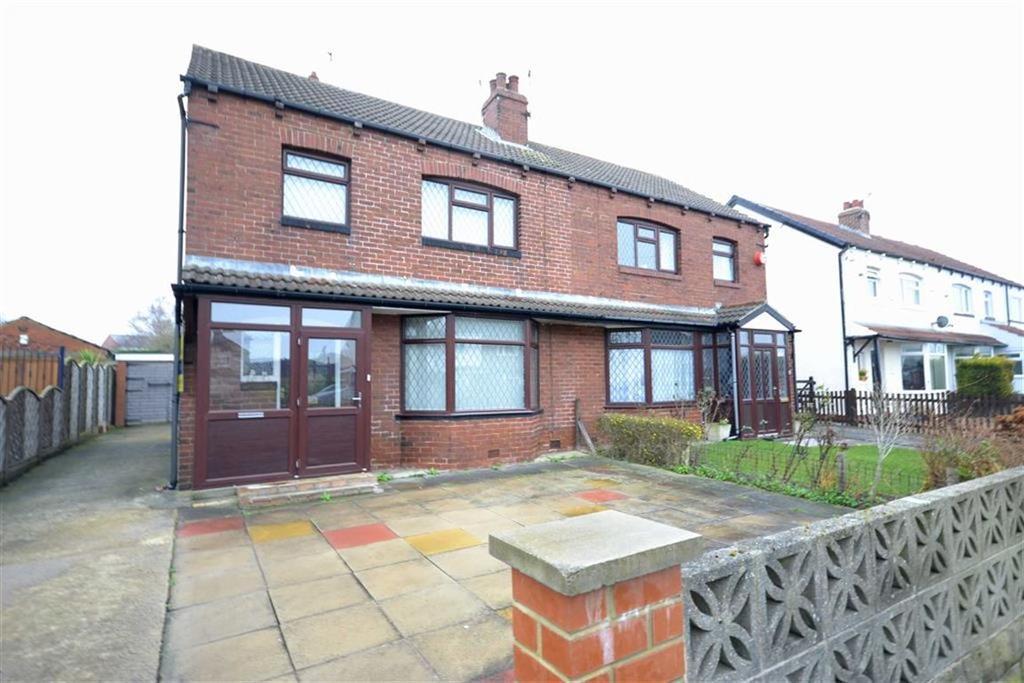 3 Bedrooms Semi Detached House for sale in Oaklea Road, Scholes, Leeds, LS15