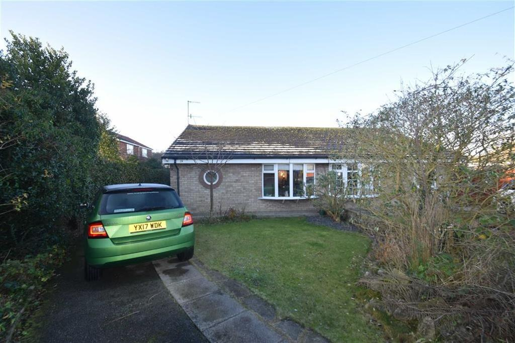 2 Bedrooms Semi Detached Bungalow for sale in Harborough Close, Hunmanby, North Yorkshire, YO14