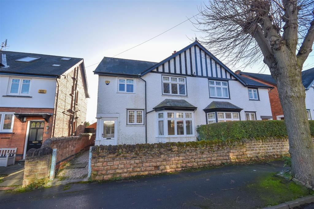 4 Bedrooms Semi Detached House for sale in Taunton Road, West Bridgford, Nottingham
