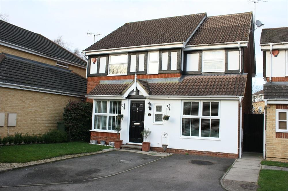 4 Bedrooms Detached House for sale in Derry Close, Ash Vale, ALDERSHOT, Hampshire