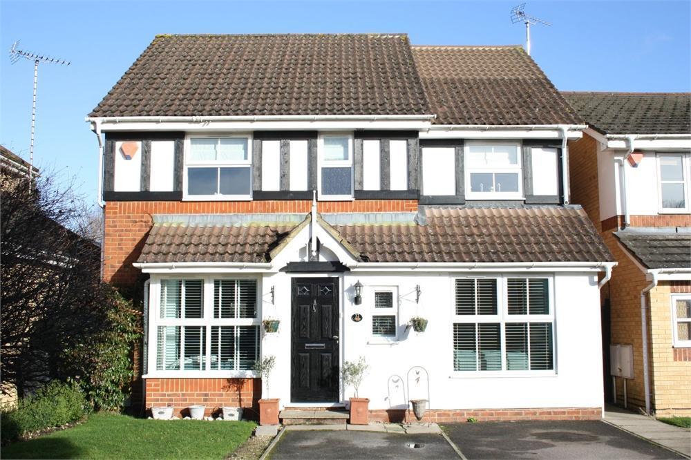 4 Bedrooms Detached House for sale in Derry Close, Ash Vale, ALDERSHOT, Hampshire