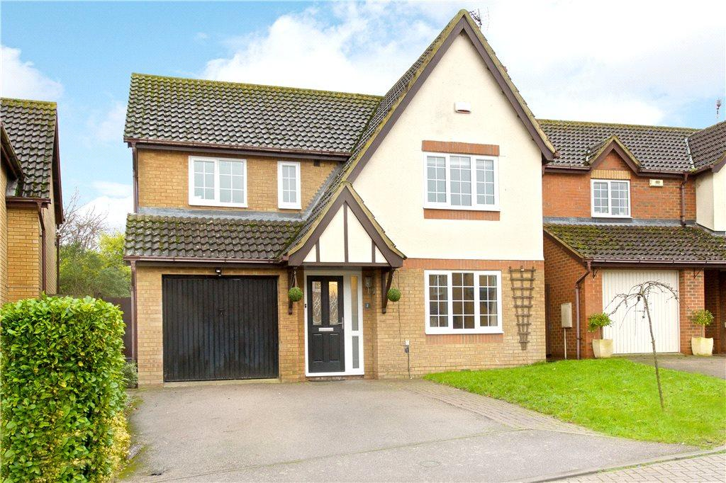 4 Bedrooms Detached House for sale in Mow Mead, Olney, Buckinghamshire