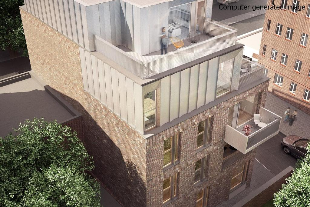 2 Bedrooms Flat for sale in Boatman House, Jamaica Road, Bermondsey