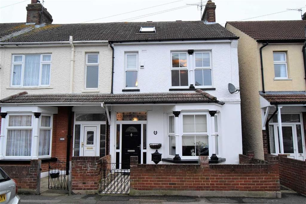 3 Bedrooms End Of Terrace House for sale in Seaton Road, Gillingham, Kent, ME7