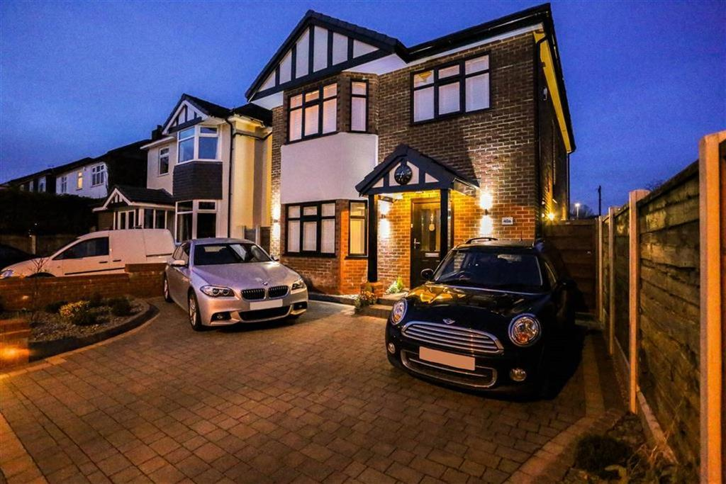 4 Bedrooms Detached House for sale in Andrew Lane, High Lane, Cheshire