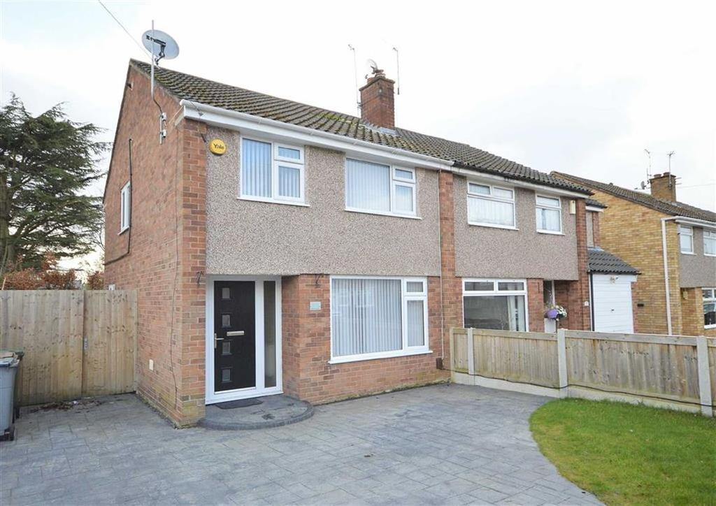 3 Bedrooms Semi Detached House for sale in Berwick Avenue, CH62