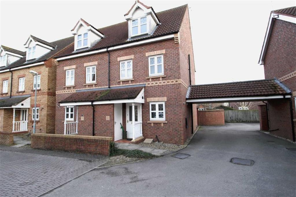 3 Bedrooms Semi Detached House for sale in Darwin Drive, Driffield, East Yorkshire
