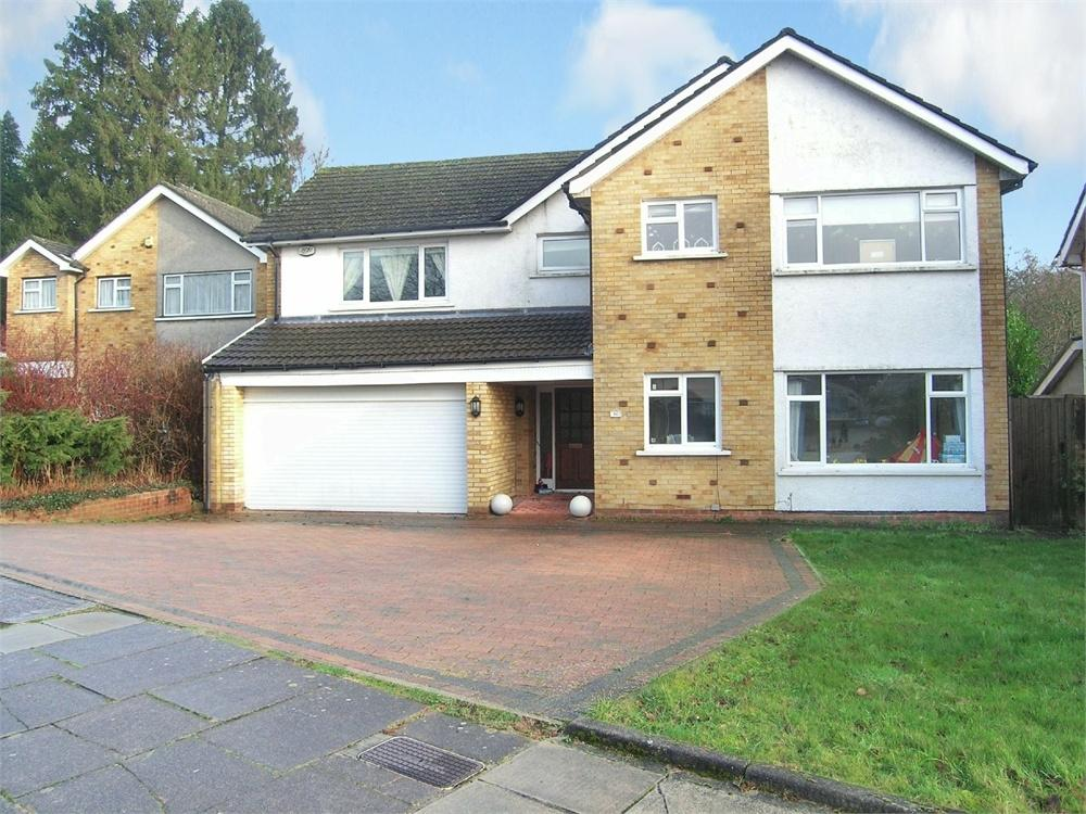 5 Bedrooms Detached House for sale in South Rise, Llanishen, Cardiff