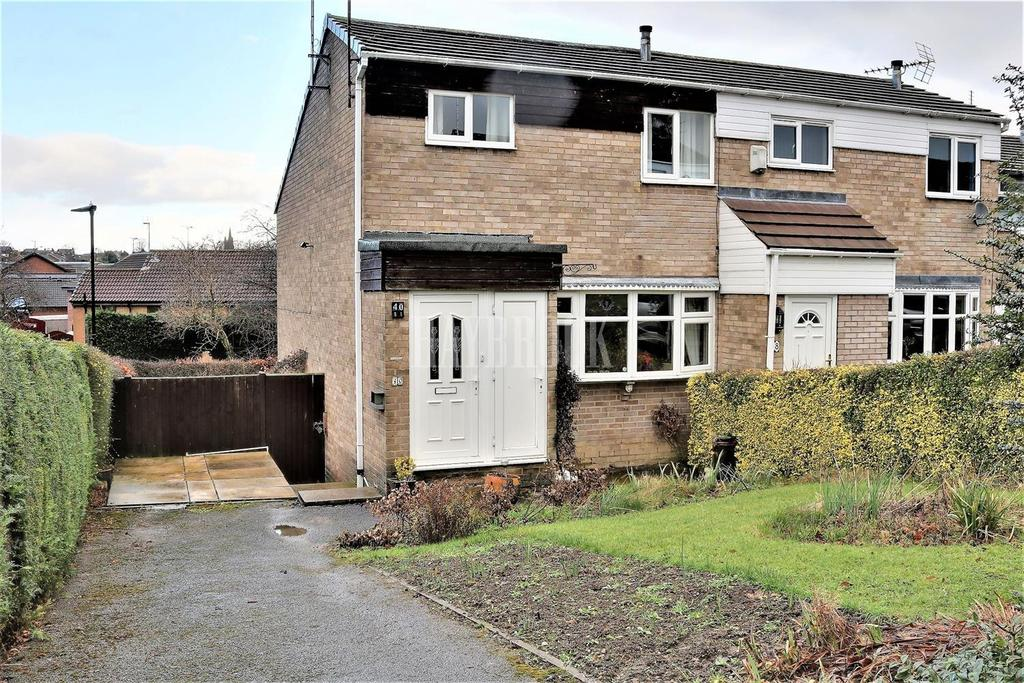 3 Bedrooms Semi Detached House for sale in Willow Crescent, Chapeltown