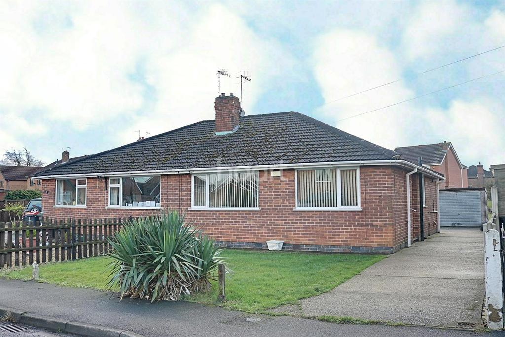 2 Bedrooms Semi Detached House for sale in Wings Drive, Hucknall